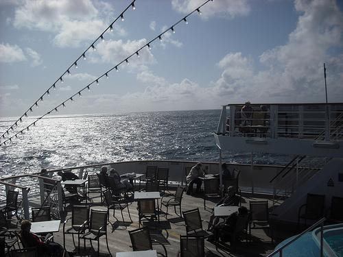 Dining deck, Ocean Majesty