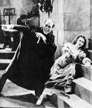 Scary phantom