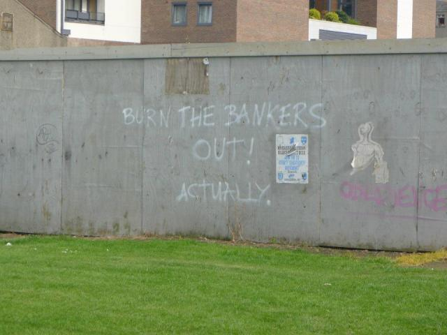 Burn the bankers. Actually.