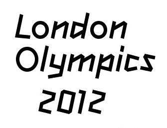 London Olympics text