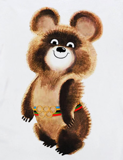 Misha the Olympic bear