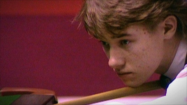 Young Stephen Hendry