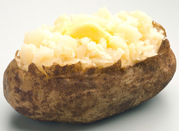 A baked potato