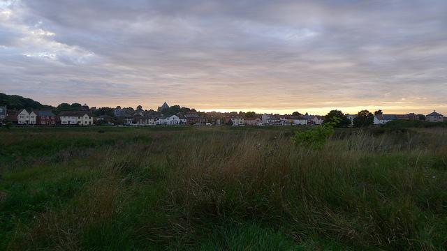 Sunset over the Colne estuary