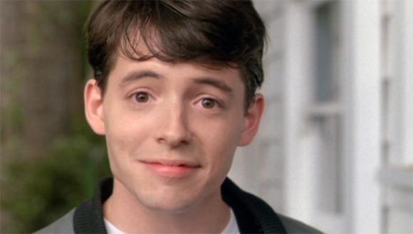 Ferris Bueller smiling