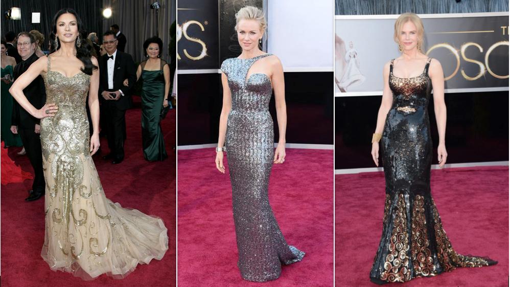 Catherine Zeta Jones, Naomi Watts, Nicole Kidman