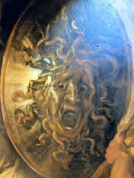 Medusa on a shield